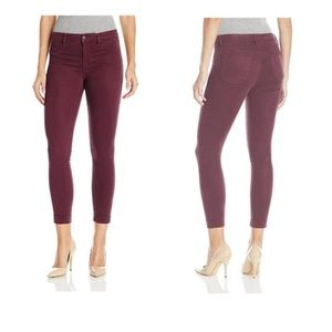 JBrand Anja Cuffed Cropped Pants